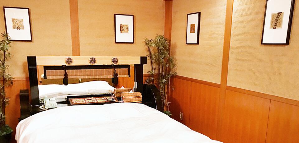 岐阜羽島のホテルポプリン。現代和風の内装のお部屋501号室です。